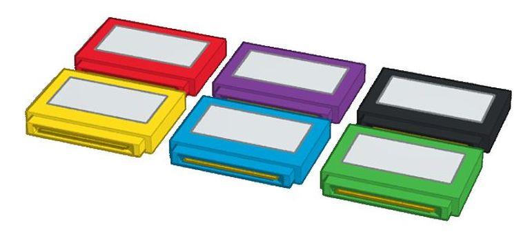 Colorful retro game software