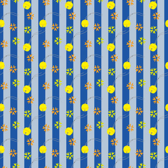 Suzu's Japanese Background Material (Dark Blue)