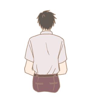 Back view boy 2