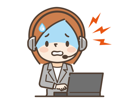 Call center operator trouble