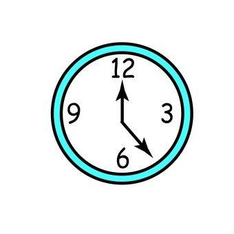 벽에 걸어 시계