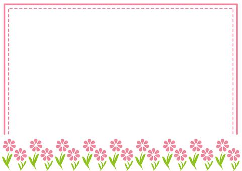 Frame, Spring flowers