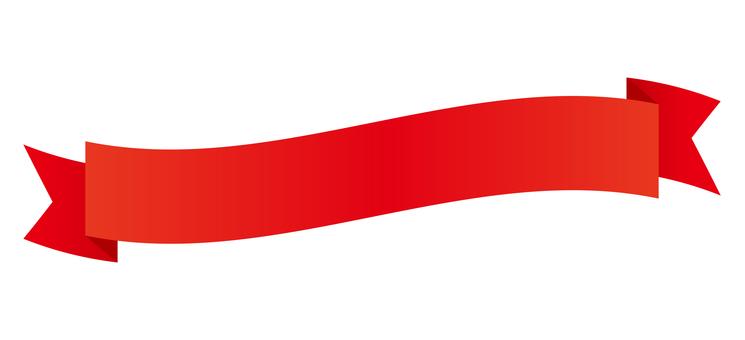 Title ribbon <Waveform / Red>