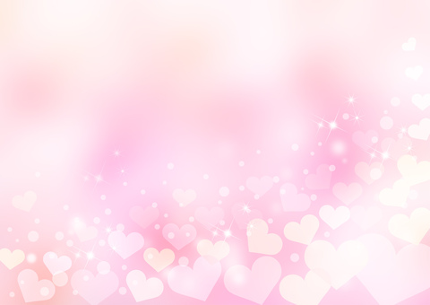 Heart _ pink _ pale background 1744