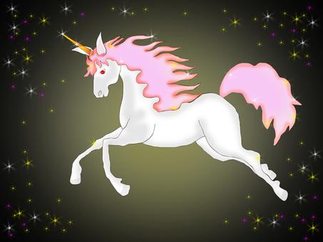 Unicorn (starry sky)