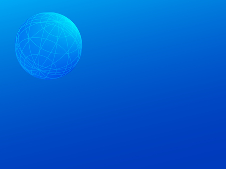 Earth image blue background material