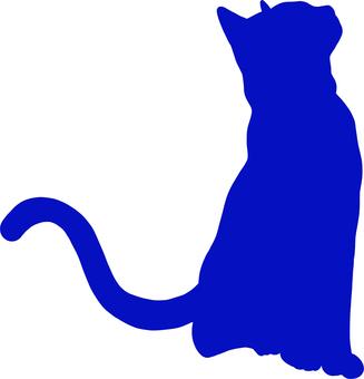Cat Cat silhouette 3