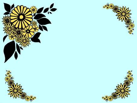 Flower wallpaper, water color