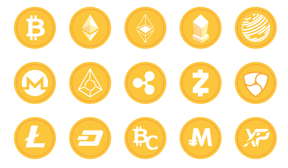 Various virtual currencies