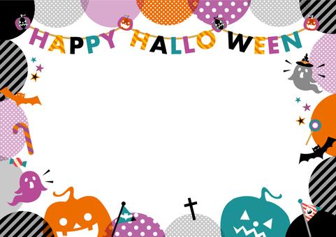 POP Halloween frame_A