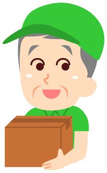 Courier Senior Man