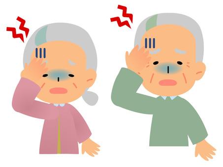 Two-year-old headache