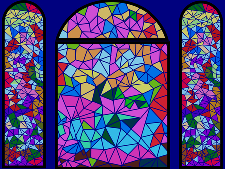 Design stained-glass windows