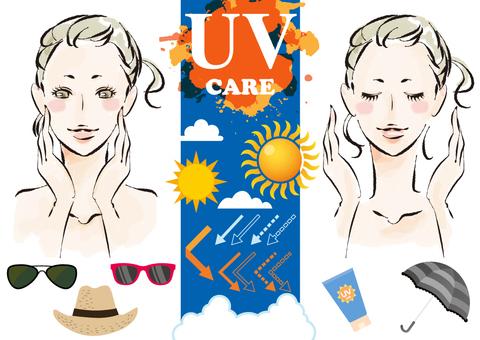 여름 피부 관리에 사용할 수 있을지도 모른다 여성