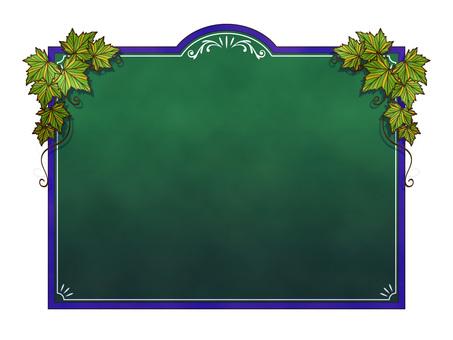 黑板菜單 -  021