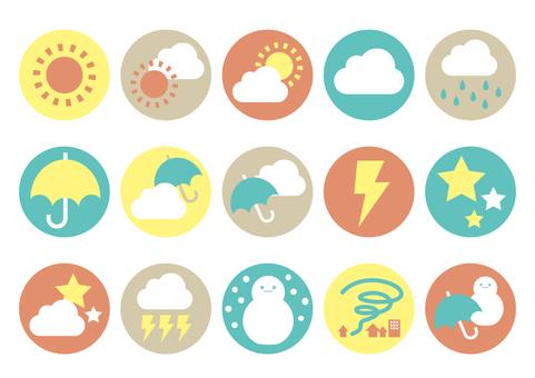 Icon set <Weather>