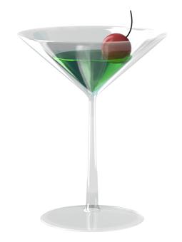 Cocktail glass (melon)
