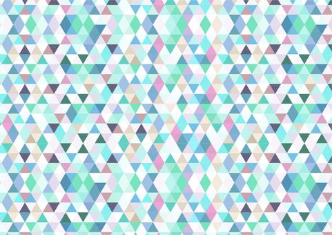 Geometrical pattern polychrome 2
