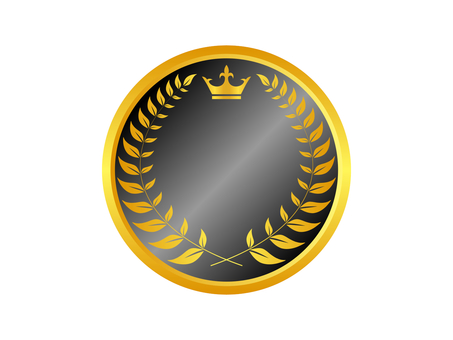 Medal icon 14 (black)
