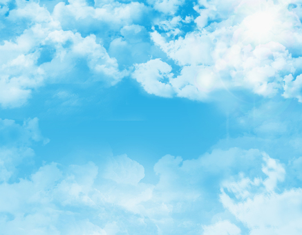Blue sky texture background material wallpaper frame frame picture