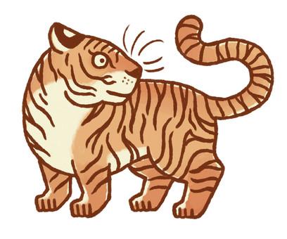 Tiger-year illustration 5