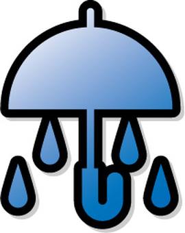 Rain mark