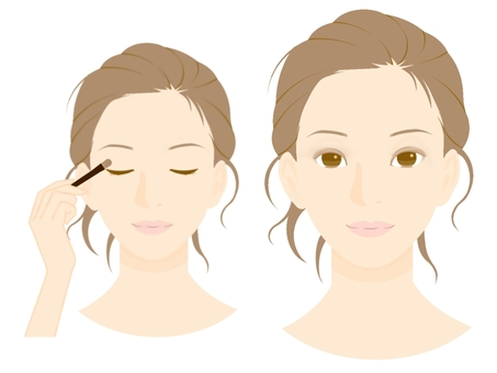 Makeup Procedure (4) Eye Shadow