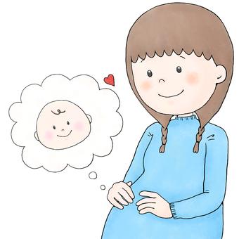 Pregnant & Baby (Winter)