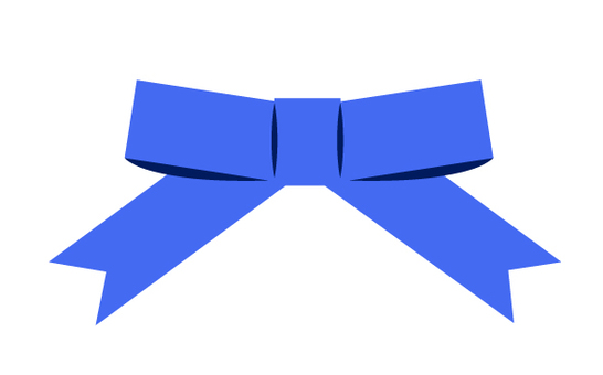 Ribbon (blue)