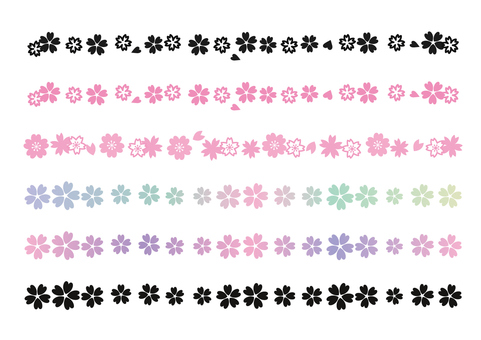 什錦的櫻花線