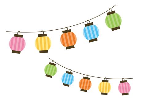 Colorful lantern