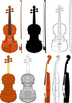 바이올린 세트