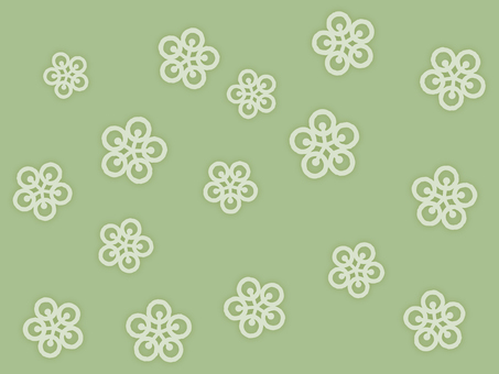 Wallpaper Plum 01 Loopy green