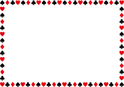 Pattern of playing cards 2c