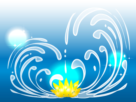 Water (water lily)
