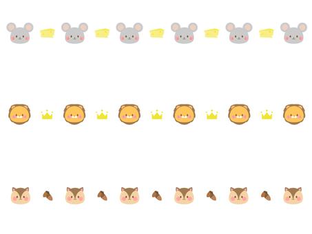 Animal line 4