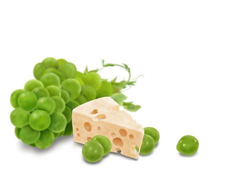マスカットとチーズ