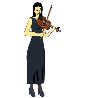 여성 바이올리니스트 그 4