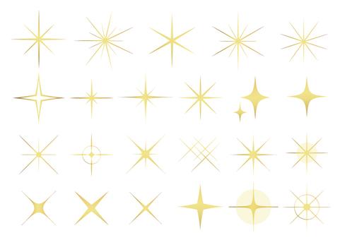 Glitter material