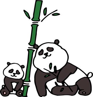 Panda Panda Lazy (Panda 5)