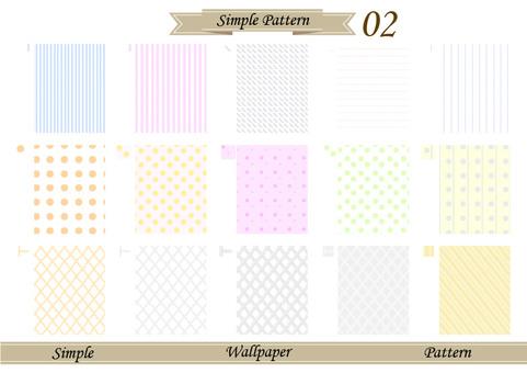 Simple wallpaper 02 pattern
