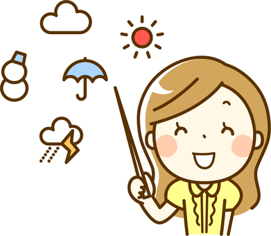 Smiley weather forecaster
