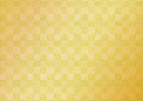 Japanese Pattern Material 036 Gold Background