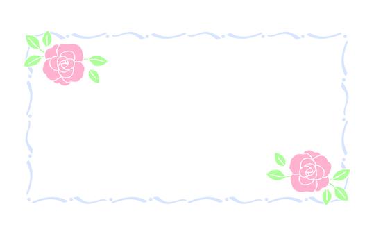 프레임 장미