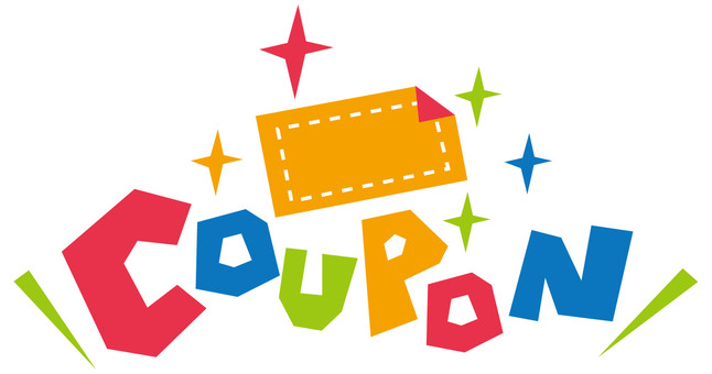 COUPON ☆ Coupon ticket ☆ POP logo