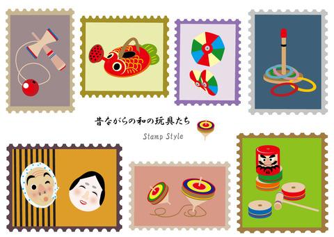 Stamp Wind Series 7 Japanese toys