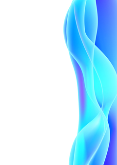 Blue purple wave shaped line background material