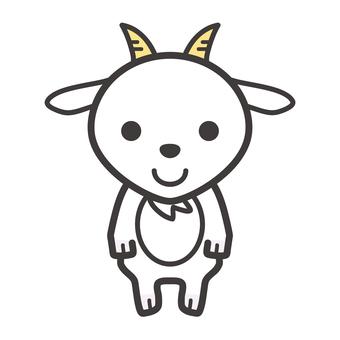 Goat whole body