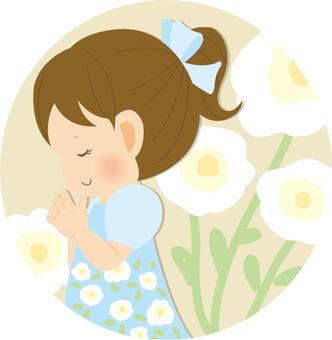 Girls _ prayer