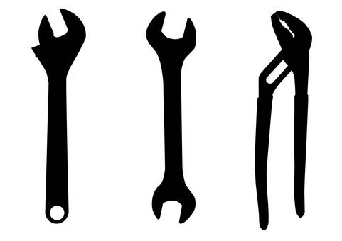Wrench · Silhouette